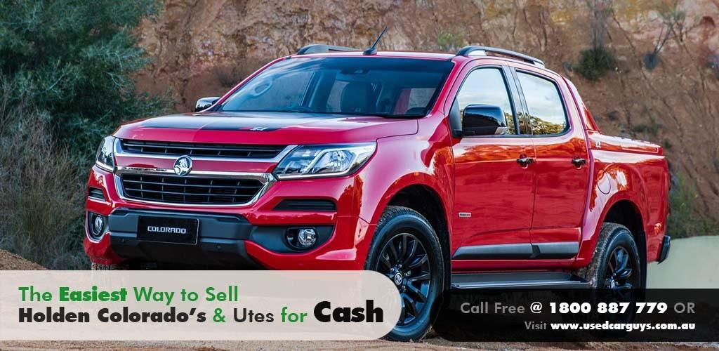 Sell Your Holden Colorado in Brisbane, QLD - Used Holden Colorado ...